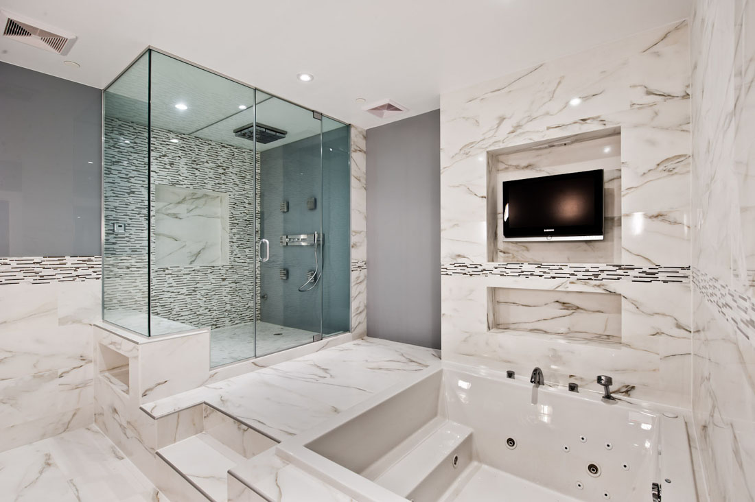 Genial 30 Marble Bathroom Design Ideas 3