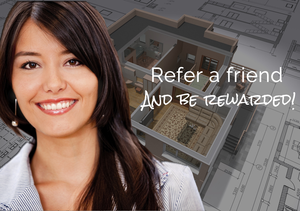 refer a friend & be rewarded